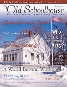 The Old Schoolhouse Magazine - FREE!!