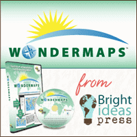 CLOSED Giveaway ~ WonderMaps by Bright Ideas Press – 3 Winners!