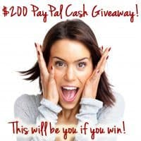 New Giveaway ~ $200 Cash! Yes -CASH!!