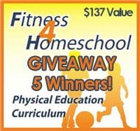 CLOSED Giveaway ~ 5 Winners – Homeschool Platinum Fitness Curriculum!