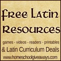 Free Latin Resources & Curriculum Deals