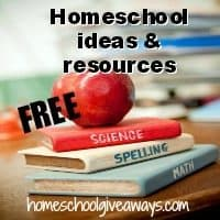 free homeschool ideas and resources