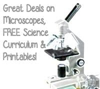 Microscope Deals up to 86% off, FREE Science Curriculum & Printables!