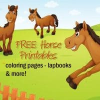 Horse Themed Printables, Freebies and Deals!