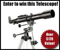 CLOSED Giveaway ~ Enter to Win a TELESCOPE for Your Homeschool!