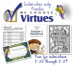 We Choose Virtues FREEBIE