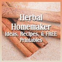The Herbal Homemaker: Tips, Recipes and Resources on Herbs