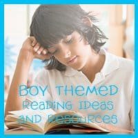 Boy Themed Reading Ideas and Resources