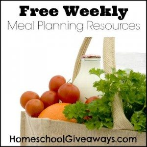 Free Weekly Meal Planning Resources Pinnable 400x400