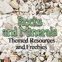 Rocks and Minerals Themed Freebies and Resources