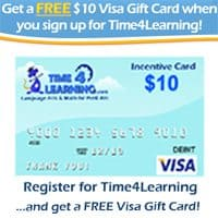 Get A $10 Visa Gift Card With Time4Learning!