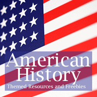 American History Themed Resources and Freebies!