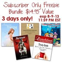 OVER: Subscriber Only Freebie – $14.95 Value! Something for Everyone!