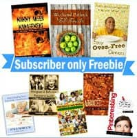 OVER – Subscriber Only FREEBIE – Mommy eBook Bundle ~ $21.92 Value!