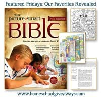 Featured Fridays: Our Favorites Revealed ~ The Picture Smart Bible