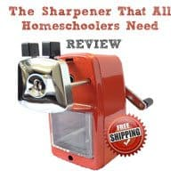 Classroom Friendly Supplies: Pencil Sharpener Review