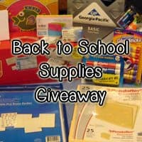 OVER – Back to School Supplies Giveaway: Printer, Laminator, & more!