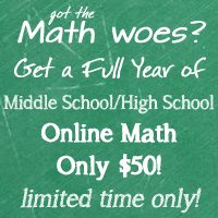 We are switching math….again, and it only costs $50 for a full year right now!