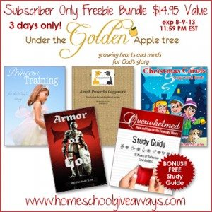 Subscriber Only Freebie Offer!