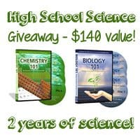 OVER Giveaway – 2 High School Science DVD Courses!