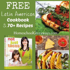 FREE Latin American Cookbook and 70+ Recipes