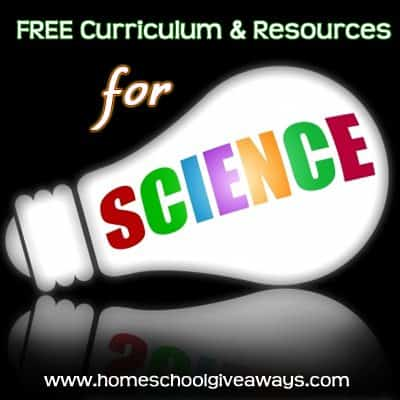 Free Science Curriculum Resources Homeschool Giveaways