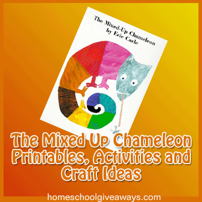 The Mixed Up Chameleon Printables Activities And Craft Ideas