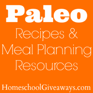 Paleo Recipes & Meal Planning Resrouces