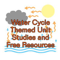 Water Cycle Themed Unit Studies and Free Resources