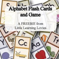 Free From Little Learning Lovies: Alphabet Flash Cards & Game!