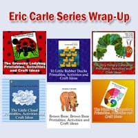 Eric Carle Book Series: Crafts, Activities and Freebies Six Week Series Wrap Up!