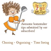 Homemaker's Best Tips ~ Results & Winner + Free Printables