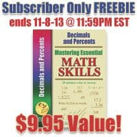 OVER – Subscriber Only Freebie: Math Essentials!