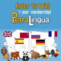 OVER Giveaway ~ PetraLingua Online Foreign Language Course Membership!
