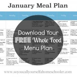January Meal Plan 2014 400x400