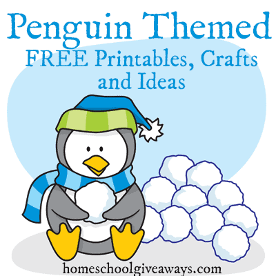 FREE Penguin Themed Printables