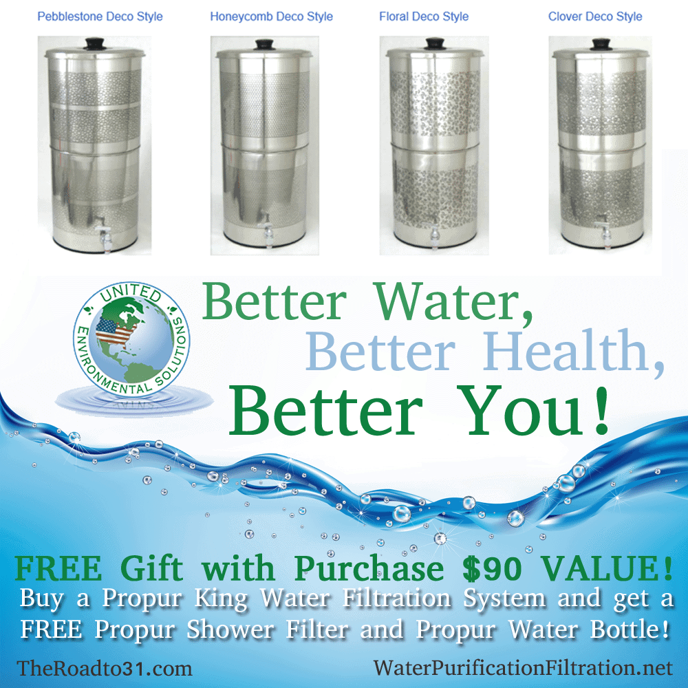 a deal on a home water filtration unit plus free shower filter water bo. Black Bedroom Furniture Sets. Home Design Ideas