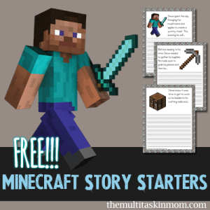FREE-Minecraft-Story-Starters