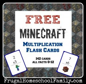 FREE-printable-Minecraft-Multipliation-Flash-Cards