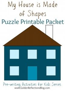 Pre-writing-Activities-for-Kids-Series-My-House-is-Made-of-Shapes-Puzzle-Piece-Printable-Packet