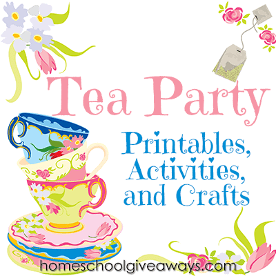Tea Party Printables Activities And Crafts