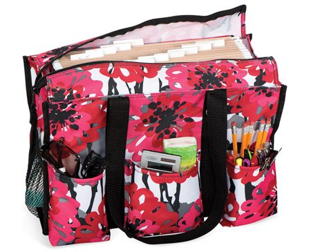 Thirty-One Zip-Top Organizing Utility Tote