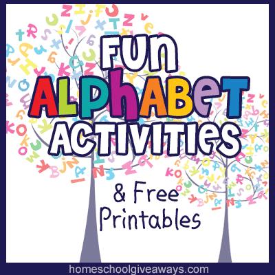 Fun Alphabet Activities and FREE Printables! - Homeschool ...