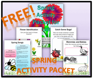 Free-Spring-Activity-Packet