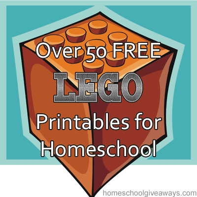 over 50 free lego printables for homeschool