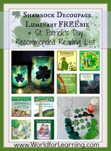 Shamrock-Decoupage-Luminary-FREEbie-Recommended-Reading-List