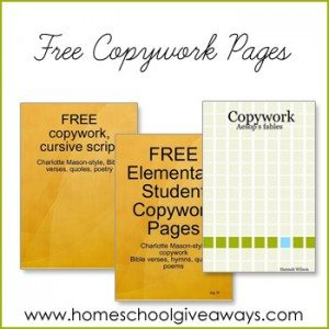 free-copywork-pages