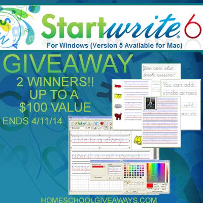 OVER - Start Write 6 Handwriting Worksheet Software Giveaway ...