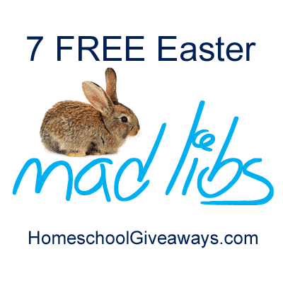 7 Free Easter Mad Libs Printables Homeschool Giveaways