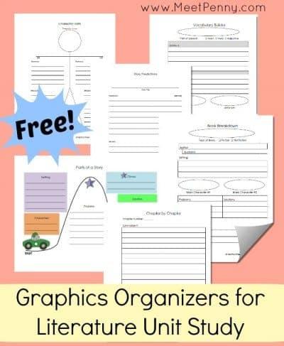 free-printable-graphics-organizers-literature-unit-study
